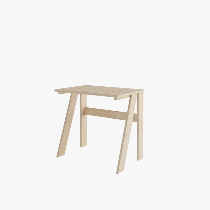 BURU TABLE DE TRAVAIL 80X55
